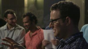 Ohad Stolarz leder en kör i Berlin som sjunger på hebreiska.