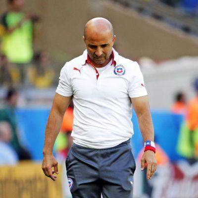 Chilen valmentaja Jorge Sampaoli.