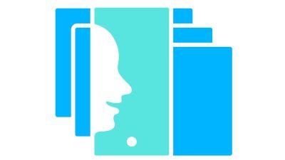 Symboli-kuva, jossa puhuvat kasvot.