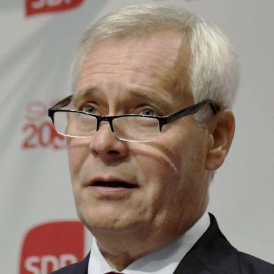 Statsminister Antti Rinne (SDP)