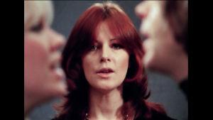 Kuva Abban musiikkivideosta Knowing Me Knowing You, jonka ohjasi Lasse Hallström. Kuva peräisin tv-dokumentista Abba - valokuvien tarinat.