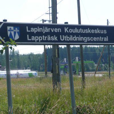 Lappträsk utbildningscentral, där civiltjänstgörarnas grundskolning sker