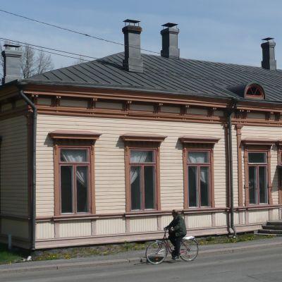 Gamla järnvägsstationen i Borgå
