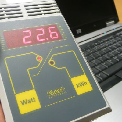 Kuvassa energiamittari