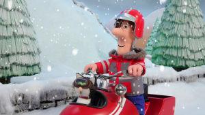 Postimies Pate ja joulukuvaelman hevonen
