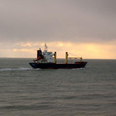 Arctic Sea ute till havs
