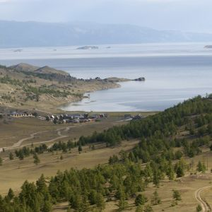 Bajkalsjön, Irkutsk, Sibirien