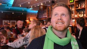 Jukka Vornanen från De gröna.