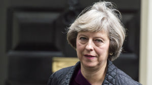 Storbritanniens inrikesminister Theresa May