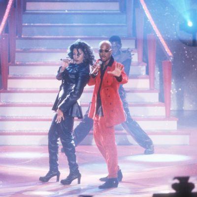 La Bouche på scen år 1996, på toppen av sin popularitet.