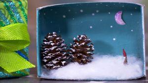 Julklapp i en tändsticksask