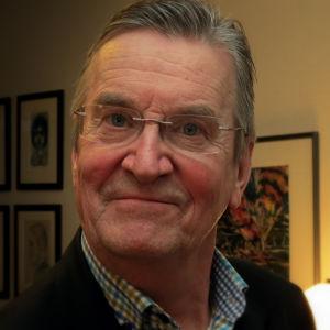 Ilkka Nousiainen, ordförande för Reportrar utan gränser Finland.