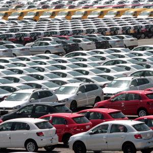 VW:s bilfabrik i Puebla, Mexiko
