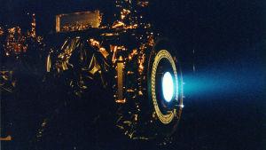 Nasa provkör en jonmotor av den sorten som kunde användas till att flytta asteroider.