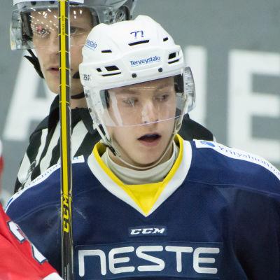 Janne Puhakka representerade Esbo Blues 2015-2016.