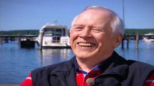 Thorvald Strömberg skrattar, 2007.