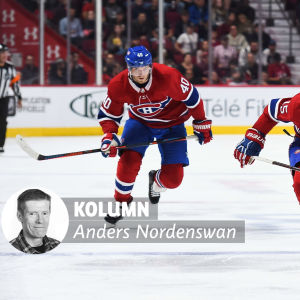 Joel Armia och Jesperi Kotkaniemi i Montreal Canadiens.