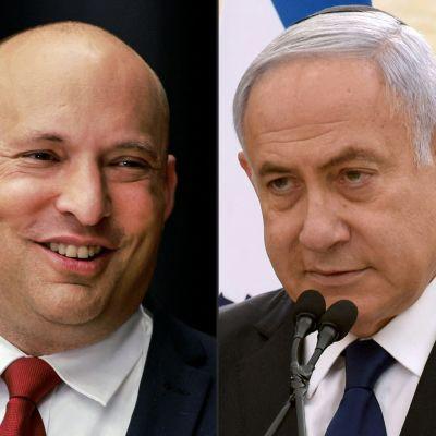 Naftali Bennett och Benjamin Netanyahu