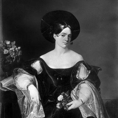 Maria Malibran. Luigi Pedrazzin maalaus 1800-luvulta.