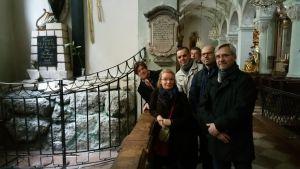Michael Haydnin hautamuistomerkillä