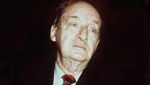 Den ryske författaren Vladimir Nabokov