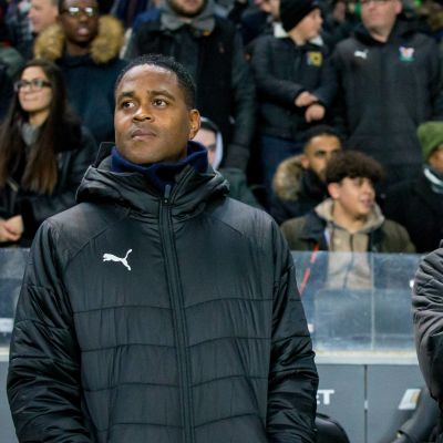 Patrick Kluivert och Clarence Seedorf.