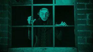 Nosferatu. Kuvakaappaus dokumenttielokuvasta Caligarista Hitleriin.