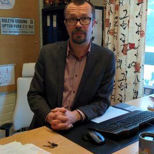 Eriksson är rektor i Ekenäs gymnasium