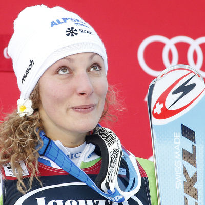 Ilka Stuhec är en slovensk störtloppsstjärna.