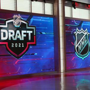 En studio för NHL-draft.