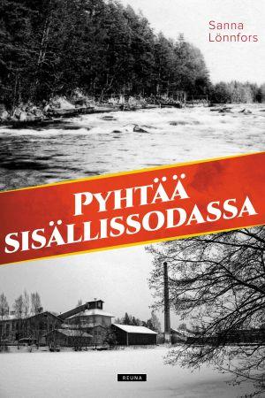 Pärm till bok om finska inbördeskriget.