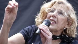 Manuela Carmen blir borgmästare i Madrid