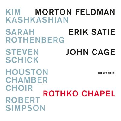 Rothko Chapel -levyn kansikuva.