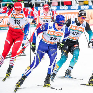 Lauri Vuorinen knep en VM-plats.