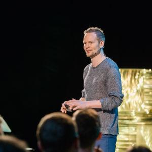 Risto Kuulasmaa speaking at Prophecy.