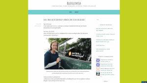 screendump på bloglovisa