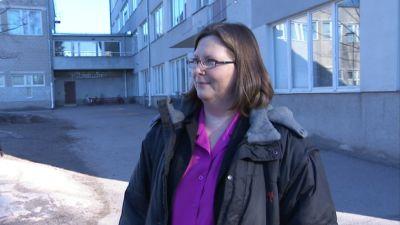 Pia Silvander är rektor för Månsas lågstadieskola i Helsingfors.
