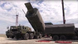 Det ryska Avangard-missilsystemet.