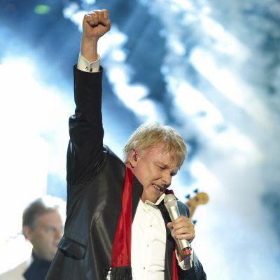 Thorleif Torstensson på scen.