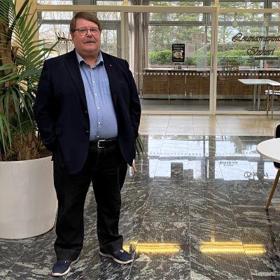Imatran kaupunginhallituksen varapuheenjohtaja Ilkka Nokelainen (sdp.)