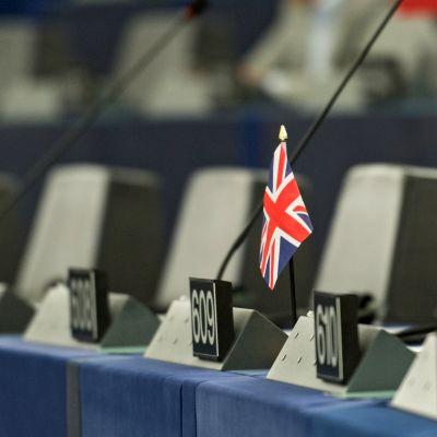 Britannian lippu europarlamentissa