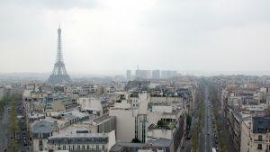 En vy över Paris