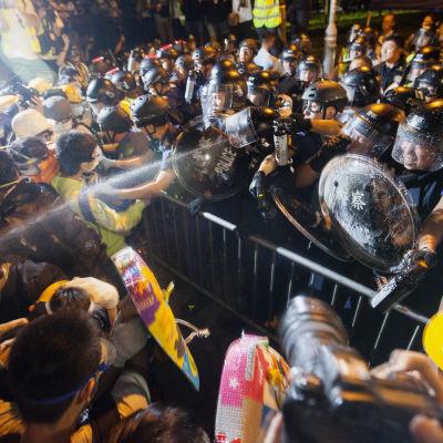 Demonstration i Hongkong