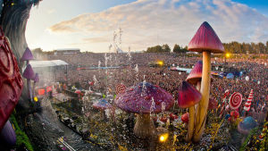 Tomorrowland 2012 i Belgien.