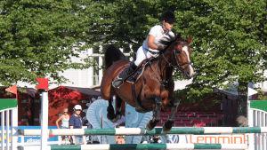 Jessica Aminoff och hästen Cathella