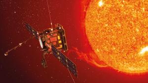 Solar Orbiter tutkii aurinkoa
