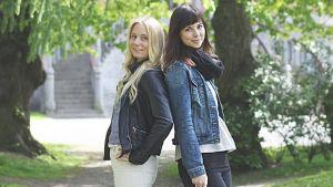 Ida-Marie Jungell och Maria Frände