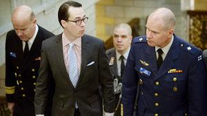 Haglund på nordiskt försvarsministermöte