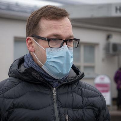 Jarkko Huusko, apulaisylilääkäri, Oulun kaupunki