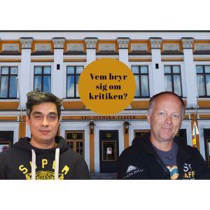 ÅST-skådespelarna Jerry Wahlforss och Bror Österlund.